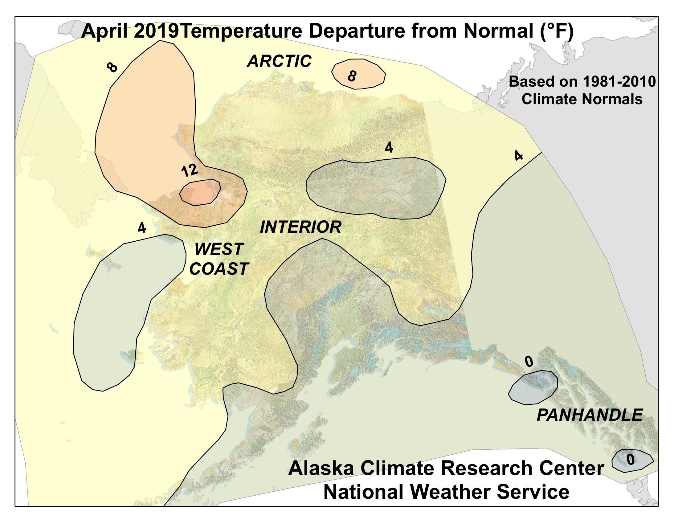 temp anomaly map